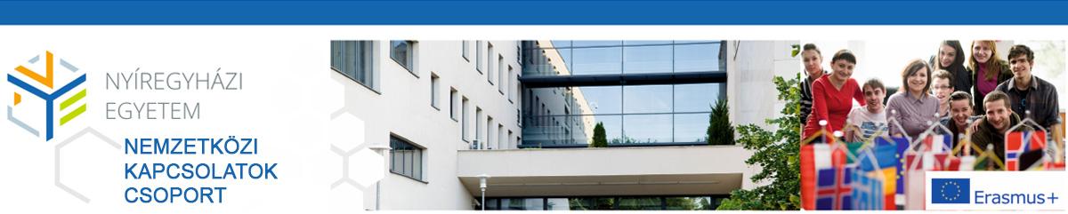 Nyíregyházi Egyetem - Erasmus+ Program align=